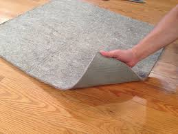 our pads are duel sided with a natural rubber that provides increased grip on your floors and avoids the failures of synthetics that may stain your wood