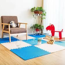 Baby Safe <b>Large Size</b> Soft EVA Play <b>Mat</b> Gym Floor <b>Carpet 12PCS</b> ...