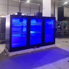 r134a 330l undercounter bar fridge with