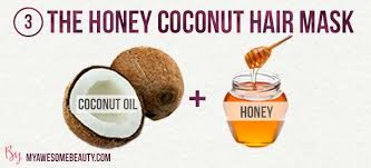 the honey and coconut hair treatment