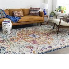 living room rug. Jahiem Saffron/Blue Area Rug Living Room