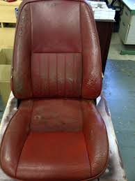 Restoring Antique Leather Classic Car Leather Restoration Leather Repair For Classic Cars