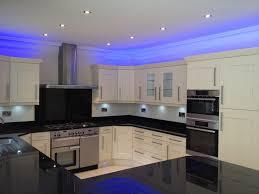 blue led kitchen ceiling lights