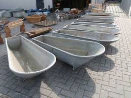 old fashioned galvanized bathtub ideas
