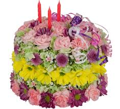 Birthday Flowers Gifts Happy Birthday Flower Cake Bd51aa