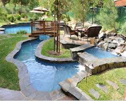 pool design ideas. Once Reserved For Hotels And Resorts, A Lazy River Is Now Part Of Residential Pool Design Ideas