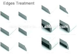 quartz countertop edge profiles home depot edge options edges your granite are diamond polished quartz countertop