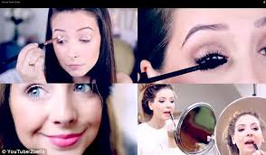 por zoella who regularly posts beauty tutorials gets millions of hits from women