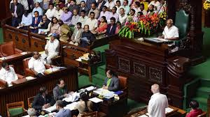 Drama In Karnataka Assembly After Bjp Mla Breaks Down Over Gay Sex