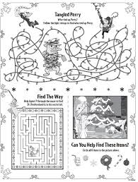 Phineas Ferb Christmas Printable Activities : Printables for Kids ...