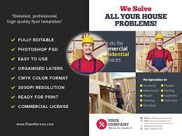 free handyman flyer template handyman flyer template free magdalene project org