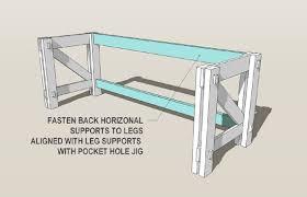 Captivating Computer Desk Plans Remodelaholic Custom Computer Desk Plans