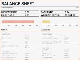 5 Simple Balance Sheet Template Bookletemplate Org