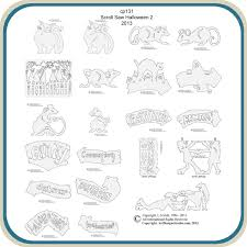 Free Scroll Saw Patterns Delectable Halloween Scroll Saw 48 Patterns Classic Carving Patterns