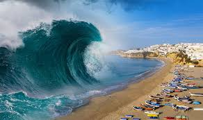 Последние твиты от tsunami waves (@tsunami_waves). Mega Tsunami Could Destroy Tourist Hotspots In Spain And Portugal World News Express Co Uk