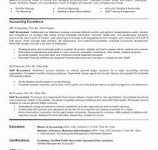 Staff Accountant Resume Example Best Staff Accountant Resumee Experienced Example Freees Objectives 24