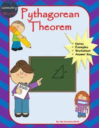 Geometry Worksheet: Pythagorean Theorem By My Geometry World | Tpt