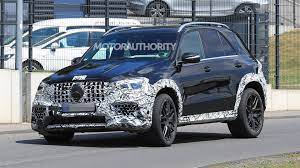 The combined efficiency of the engine comes out to be 14 mpg as rated by the epa. 2021 Mercedes Amg Gle63 Spy Shots And Video