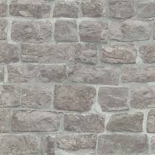 brick gray wood stone wallpaper sample modern urban chic wall décor