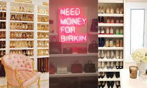 14 celebrity wardrobes and glam rooms that have to be seen to be believed