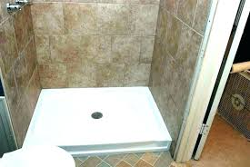 diy shower base shower floor tile installation wall joint onyx base with walls repair ed pan