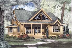 cabin plans log home plans
