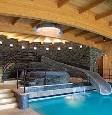 mansion with indoor pool with slides. Wonderful Pool Indoor Pool Room Intended Mansion With Pool Slides I