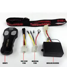 tuff stuff acirc reg v wireless winch remote control kit tuff stuff tuff stuffacircreg 12v wireless winch