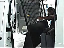 ford transit connect van storage improvements partition adjustments adrian steel official