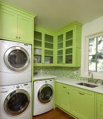 soft green cool modern laundry room remodeling ideas for your ease bright modern laundry room
