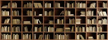 Natural Bookcase Wallpaper Mural Wall Mural Photo Wallpaper
