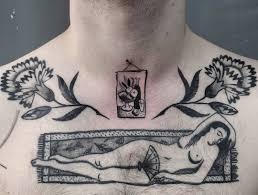лучше украшений яркие и оригинальные идеи татуировок на груди фото