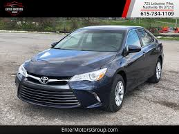 2015 Used Toyota Camry at Enter Motors Group Nashville, TN, IID ...