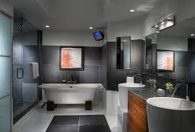 modern interior bathroom doors. modern interior doors bathroom contemporary with double sinks tv