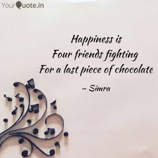 Happiness Is Four Friends Quotes Writings By Sheerin Yourquote