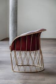 inspired by the clic mexican chair of the same name ramírez vásquez s architecturally plex signature chair has 36 pieces of solid metal tubing