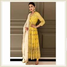 Anushka Sharma Fashion Designer Anushka Sharma In Anita Dogra Indian Designer Wear