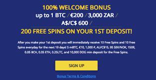 Sign up, no deposit, 150% deposit bonus & more! Bitcoin Casino No Deposit Bonuses Free Spins Without Deposit