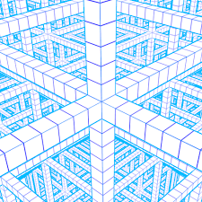 56 Glamorous 3d Graph Paper Art