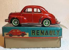 yonezawa 1960 renault 4 cv tin toy cars box yonezawa 1960 renault 4 cv