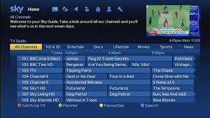 tv guide. sky launches new-look tv guide with overhauled on demand, catch-up and tv