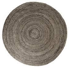 tan round jute rug gray round jute rug
