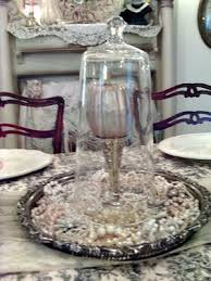 Decorating With Silver Trays Penny's Vintage Home Decorating with Cloches Silver tray 80