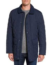 Marc new york Milton Quilted Barn Jacket in Blue for Men | Lyst & Marc New York | Blue Milton Quilted Barn Jacket for Men | Lyst Adamdwight.com