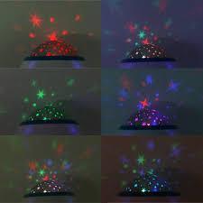 baby children alarm clock room sky star night light projector lamp