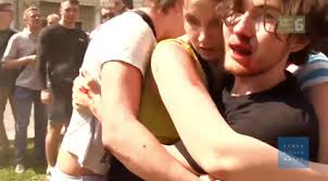 russian gay men beaten on camera in devastating clip from human human rights watch has released a disturbing clip detailing many of the violent criminal exploits of russian anti gay vigilante groups like occupy