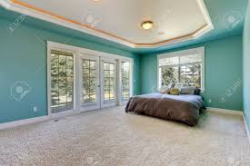master bedroom in turquoise color with coffered ceiling furnished turquoise bedroom ideas photos turquoise bedroom rug