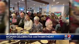Woman celebrates 105th birthday in Sanford