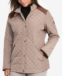Lauren Ralph Lauren Plus Size Quilted Jacket - Coats - Women - Macy's & Lauren Ralph Lauren Plus Size Quilted Jacket Adamdwight.com