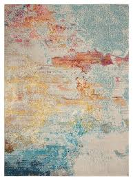 nourison celestial modern abstract area rug contemporary area rugs by nourison